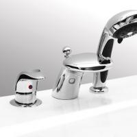Смеситель на борт ванны COBRA  LUX (3 эл.)